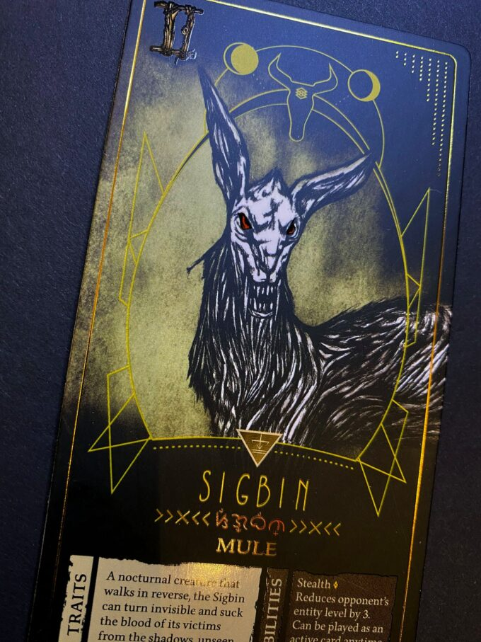 Special Edition Lagim Sigbin Card