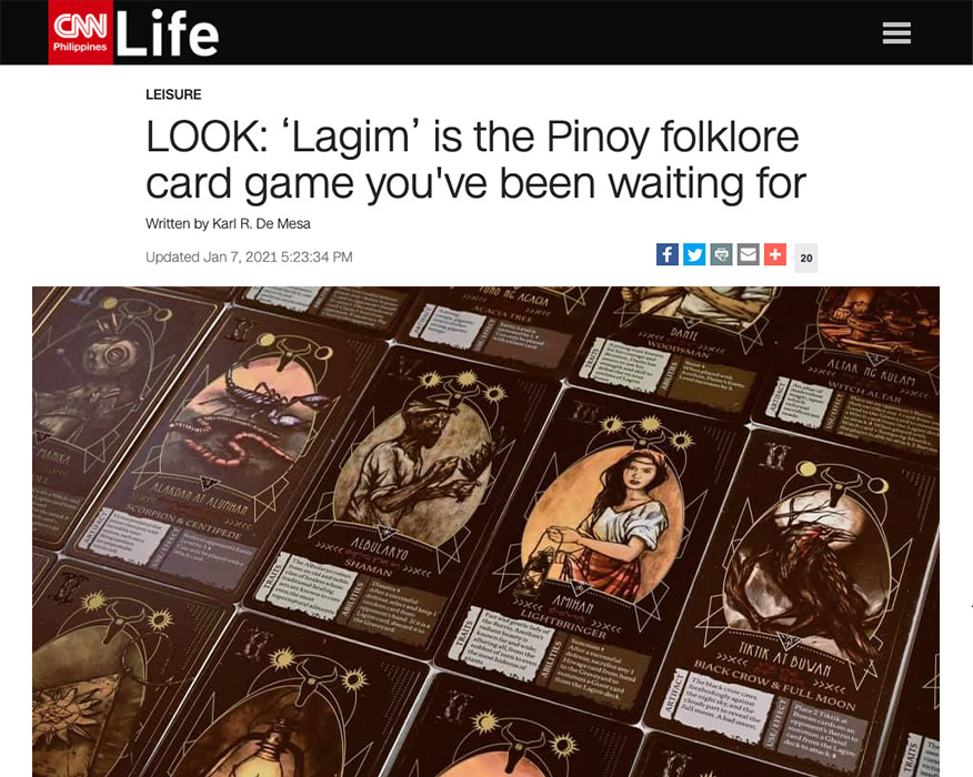 Lagim feature in CNN